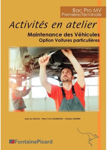 Activités en Atelier Maintenance des véhicules