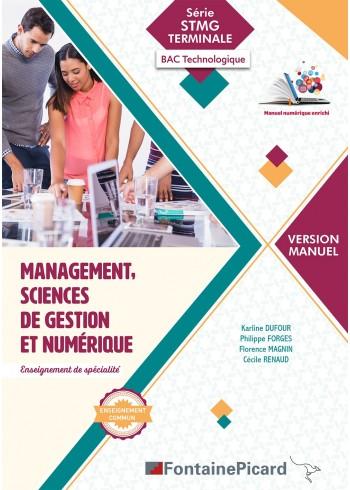 Management, Sciences de gestion et numérique - Version Manuel