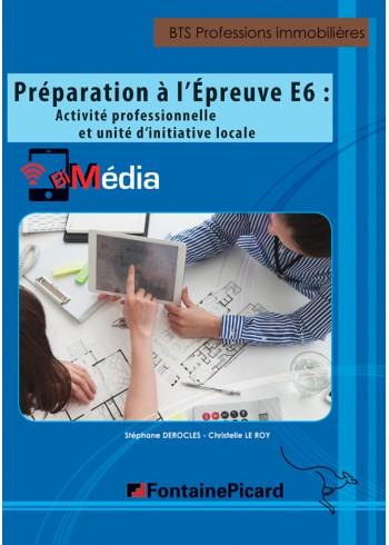 Préparation à l'épreuve E6 :