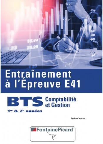 Entraînement à l'épreuve E41